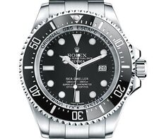 Rolex Deep Sea Sea Dweller stainless steel black dial 116660 automat box papers