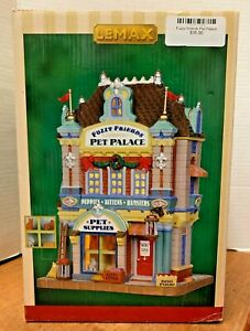 LEMAX  Fuzzy Friends Pet Palace #35583Lighted Building  2013   FREE SHIPPING