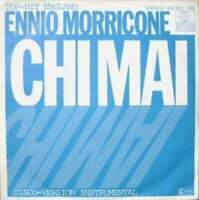 "Ennio Morricone Chi Mai 7"" Single RE Vinyl Schallplatte 9140"