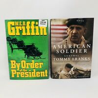 American Soldier Franks & By Order of the President Griffin 1st Editions 2004 HC