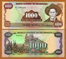 Nicaragua, 1000 Cordobas, 1985, P-156, UNC