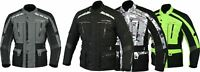 MBSmoto James Motorcycle bike Waterproof Armour Mens Textile Touring Jacket