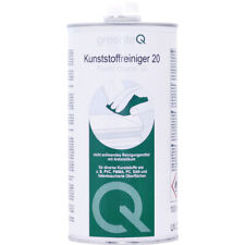 1 Liter greenteQ PVC Reiniger 20 Kunststoffreiniger Fenster Türen