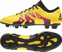 adidas X 15.1 Firm Ground / AG Mens Football Boots - Gold