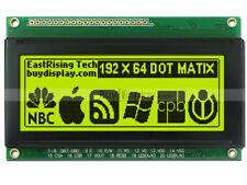 """3.3""""19264 192x64 Dots Graphic LCD Module Display GLCD w/KS0107+KS0108 w/Tutorial"""