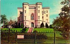 Baton Rouge LA Old State Capitol Building Entrance Postcard unused (16821)