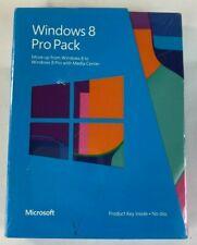 New Microsoft Windows 8 Pro Pack (Win 8 to Win 8 Pro Upgrade)