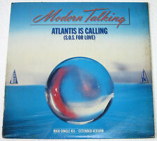 "UK Pressing MODERN TALKING Atlantis Is Calling 12"" EP Record"