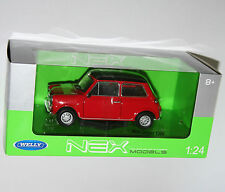Welly - MINI COOPER 1300 (Red) Die Cast Model - Scale 1:24