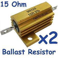 LED rear light ballast Resistors (x2) for Range Rover Sport 2010 lamps upgrade