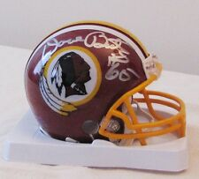 "Dave Butz Signed Washington Redskins 1982 ""Tucked Feather"" Mini Helmet"