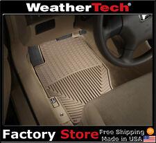 WeatherTech All-Weather Floor Mats - 1989-2007 - Honda Accord - Tan