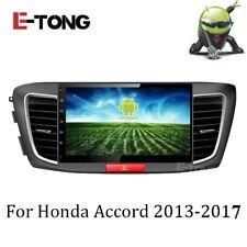 Android 7.1 Car GPS DVD Player radio Navigation For Honda Accord 9th 2013-2017