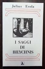 Julius Evola I saggi di Bilychnis Ar religione ermetismo alchimia fiosofia