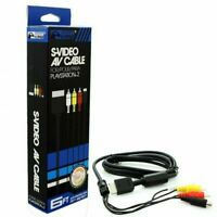 🔥 New S-Video A/V Cable for Sony PlayStation Systems PS1 PS2 PS3 NEW USA 🔥