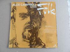 "Alex Campbell Sings Folk 12"" Vinyl LP Record 1963"