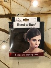 Mia Beauty Bend-a-Bun Bendable Hair Styling Tool, Brown