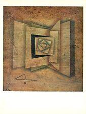 "1967 Vintage PAUL KLEE ""OPEN BOOK"" WONDERFUL FAMOUS COLOR offset Lithograph"
