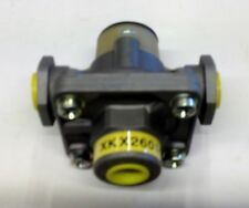 XKX2601/2 4 port quick release valve, ports can be adapted