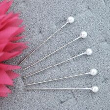 "Ball Head Pins WHITE Color 1000/box 1-3/4"" ,sharp ,perfect for sewing & quilting"