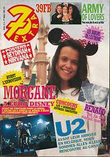 7 EXTRA 92/19 (6/5/92)RENAUD U2 MORGANE ARMY OF LOVERS NIRVANA SARDOU GENESIS
