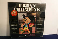 The Chipmunks, Urban Chipmunk, RCA AFL1-4027, 1981, Poster, SEALED, Country Rock