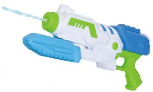 "Large 15"" Water Gun Pump Action 37cm Powerful Super Soaker Pistol Wet Fun 6804"