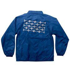 Independent OG PATTERN Coach Windbreaker Jacket ROYAL BLUE XL