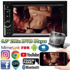 Mirror Link for GPS Car Stereo DVD CD Radio HD Player Bluetooth Backup Camera US