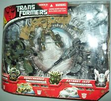 TRANSFORMERS DELUXE MOVIE 3 pack FIGURE 2007 DECEPTICON BRAWL BONECRUSHER JAZZ