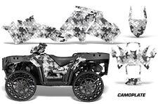 Polaris Sportsman WV850 ATV Graphic Kit Wrap Quad Accessories WV Decals CAMO SLV
