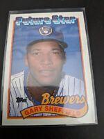 1989 Topps FUTURE STAR Gary Sheffield RC #343 Rookie Card Pack Fresh MINT