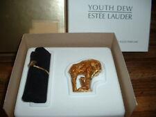 "Estee Lauder Solid Perfume Compact ""Gilded Giraffe"" in Original Box!"