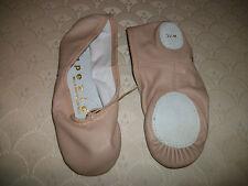 Capezio Ballet Shoe CG2002 Leather Split Sole Pink New In Box
