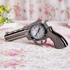 Cool Pistol Gun Design Alarm Clock Travel Desk Table Home Decor
