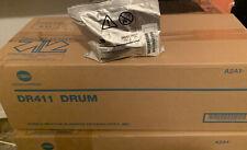 Genuine Konica Minolta Bizhub 223 363 423 283 Drum Amp Developer Set Dr 411 Dv411