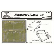 ROYAL MODEL 021 - MUDGUARDS TIGER II - PHOTOETCHED 1/35
