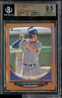 BGS 9.5 AARON JUDGE 2013 Bowman Draft Picks ORANGE #19 Rookie RC #/250 GEM MINT