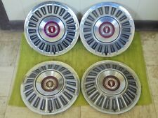 """1967 Ford Hub Caps 15"""" Set of 4 Wheel Covers Hubcaps 1967"""