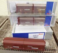 Roco 76169 H0 Schiebewandwagen-Set 3-teilig Bauart Tbis  SJ Schweden Epoche 4/5