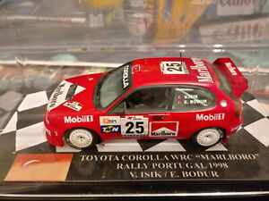 "1/43 Toyota Corolla Volkan Isik Rally Portugal 1998 ""Marlboro"""
