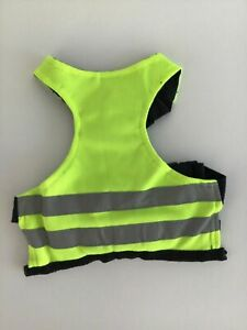 Pooch Plus Dog Neon Green Safety Reflective Jacket/Vest