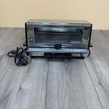 Vintage GE General Electric 60s Deluxe Toast R Oven A2T93B Chrome