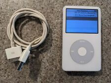 7k songs - Apple IPod Model No. A1136 60gb Some Wear and Scratches