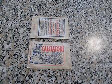BUSTINA (PACKET) album CALCIATORI 1958-59 1959 LAMPO ORIGINALE NUOVA SIGILLATA
