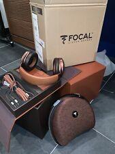 Focal Stellia Closed-Back Over-Ear Headphones - Cognac