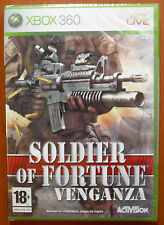 Pal version Microsoft Xbox 360 Soldier of Fortune 3 venganza