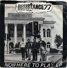 "RESISTANCE 77  ""NOTTINGHAM PROBLEM - JOIN THE ARMY +2""  EP PUNK ROCK LISTEN!"