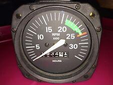 CESSNA S3329-1 Tachometer -Cessna 172SP 934.4 Hours -light bar RELEASE NOTE(B28)