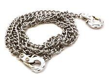 Integy 1/10 Scale Crawler Realistic Metal Drag Chain W/ Tow Hooks #C26493 OZ RC